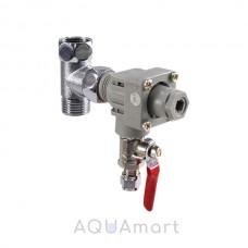 Регулятор давления с врезкой AquaFilter ADV-REG-CR_K