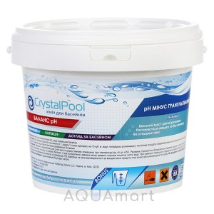 Химия для бассейнов Crystal Pool pH Minus (15 кг)