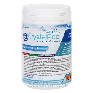 Хлор шок Crystal Pool Quick Chlorine Tablets (1кг)