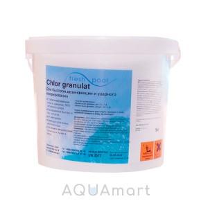 Длительный хлор для бассейна (5 кг)