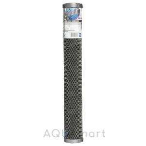 Картридж угольный брикет Aquafilter FCCBL-L-S 20-slim