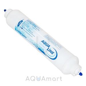 Постфильтр угольный Aqualine GAC-1L с фитингами