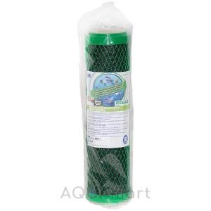 Картридж угольный брикет Aquafilter FCCBL-G-AB антибактериальный