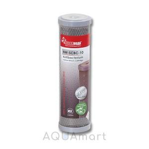 Картридж угольный брикет Новая Вода NW-SCBC-10 антибактериальный