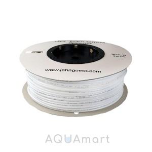 """Трубка John Guest PE-08-BI-0500F-W 1/4"""" для фильтров (белая, 1 метр)"""