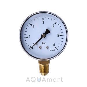 Манометр для воды 4-16 МПа (радиальный)