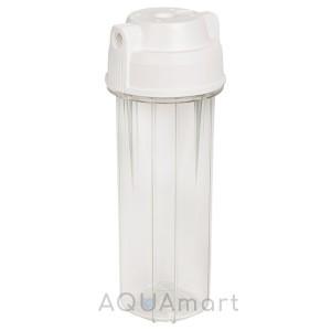 """Корпус фильтра 10"""" Aquafilter EG14CWAQ-4 (прозрачный)"""