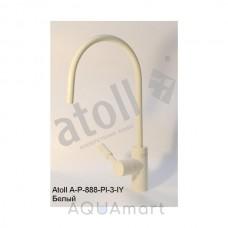 Кран Atoll A-888-PI-3-IY (слоновая кость)