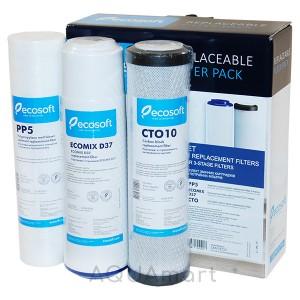 Комплект картриджей №4 Наша Вода (Ecosoft CMV3ECO)