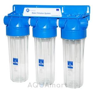 Фильтр магистральный Aquafilter FHPLCL34-D-TRIPLE